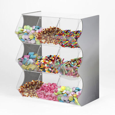 Stacking Pick And Mix Dispensers | Sweet Display | Wedding Sweet Stand | - UK • 236.60£