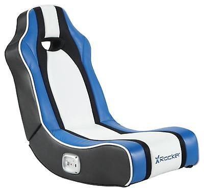 AU197.38 • Buy X Rocker Chimera Gaming Chair - Blue Gamer Seat Comfortable Playing Console Gift