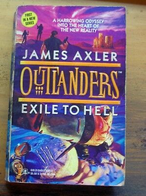 AU34.99 • Buy JAMES AXLER. First Book In OUTLANDERS Series  EXILE TO HELL. (1997)
