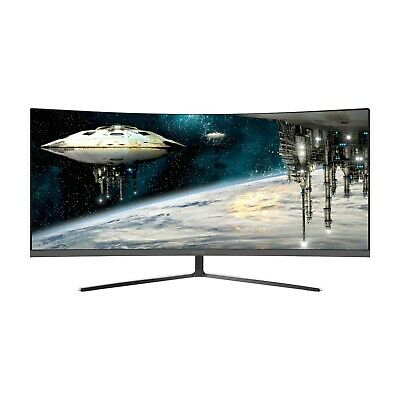 AU452.39 • Buy Viotek GN34C 34-In 21:9 Ultrawide Curved Gaming Monitor Professional 1440p 100Hz