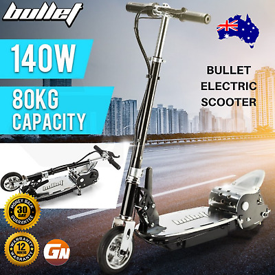 AU235 • Buy BULLET TRZ Electric Scooter Foldable Portable 140W Adjustable Adults Kids Ride