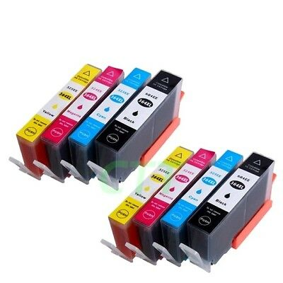8 CHIPPED HP 364XL INK CARTRIDGES For PhotoSmart 5520 5510 6520 B110a Non-oem • 9.99£