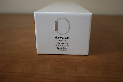 $ CDN510.55 • Buy NEW Apple Watch Series 3 38mm Silver Aluminium Case With Fog Sport Band