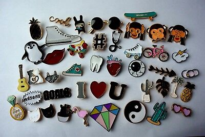 Funky Badges Fashion Pin Brooch Badge Metal Enamel Pins Styles Clothes UK Seller • 3.60£