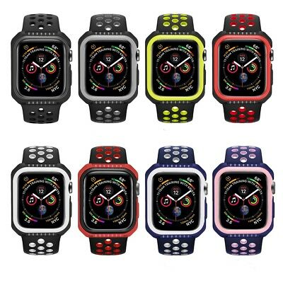 $ CDN6.20 • Buy For IWatch Apple Watch Series 4 2018 Bumper Protector Case Cover 40/44mm DuoTone