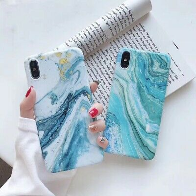 AU9.99 • Buy IPhone XR Luxury Marble Pattern Shockproof TPU Soft Bumper Case Cover 11 Pro Max