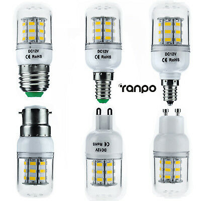 AU3.78 • Buy LED Corn Bulb E27 E12 E26 E14 G9 GU10 Dimmable 7W Light 5730 SMD Lamp Bright