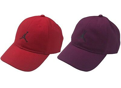 39165ba299cdd Nike Air Jordan Adult Adjustable Jumpman Logo Hat Red Purple New 847143 •  21.97