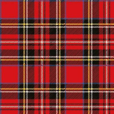 Ambiente Pack Of 20 Paper Napkins / Serviettes - Scottish Red - 3 Ply • 4.75£
