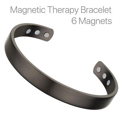 $7.09 • Buy Magnetic Copper  Energy Therapy Bracelet Bio Arthritis Pain Relief Mens Women US