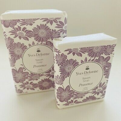 AU19.27 • Buy Yves Delorme Soap Paris French Milled Luxury Bar Provence Assorted Colors & Size