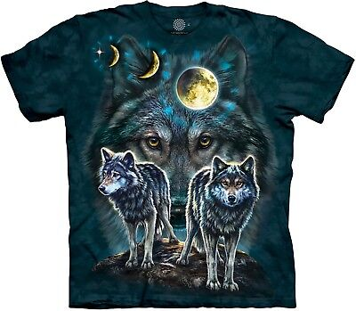 £24.99 • Buy The Mountain Unisex Adult Northstar Wolves Animal T Shirt