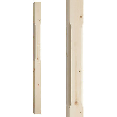 £89 • Buy Stop Chamfered Stair Newel Post Type 1 - Select Timber And Type