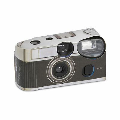 £6.99 • Buy Disposable Cameras With Flash Vintage Design In Black Party Favour