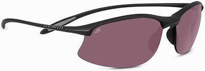 $157.23 • Buy SERENGETI MAESTRALE 8449 SATIN BLACK POLARIZED PhD SEDONA SUNGLASSES DMG