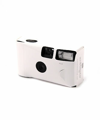 £6.99 • Buy Disposable Camera With Flash White Single Use Favour Packs Of 1,2,5, 8 Or 10