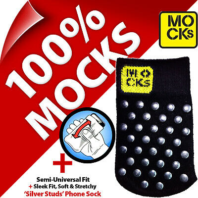 £2.97 • Buy Mocks Studded Mobile Phone MP3 Sock Case Cover Pouch For IPhone 4S 5 5S 5C SE