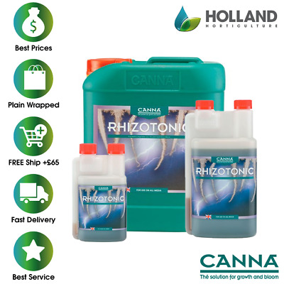 Canna Rhizotonic-250ml 1L 5L 10L- Hydroponics Roots Boost Growth Supplement Grow • 11.99£