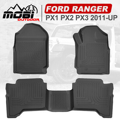 AU75.99 • Buy MOBI 3D Floor Mats For FORD RANGER PX PX2 PX3 Wildtrak Raptor 2011-ON