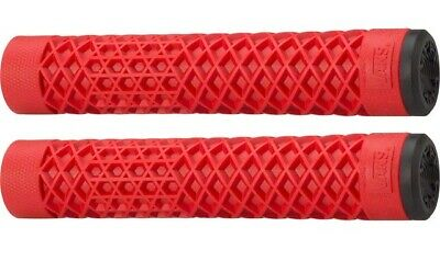 AU32.94 • Buy Cult Vans Flangeless BMX Grips - Red - By ODI