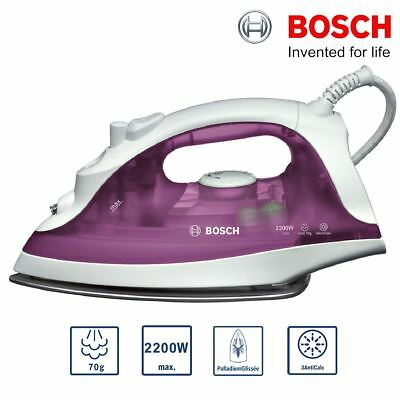 View Details Bosch TDA2329GB Steam Iron 2200W Anti-Calc 70g Steam Shot Vertical Steam • 11.99£