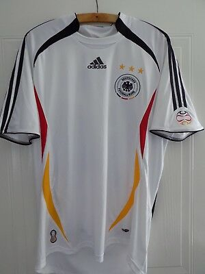 2006 Adidas Germany Deutschland Football World Cup Home Shirt Retro RARE Soccer  • 29.99£