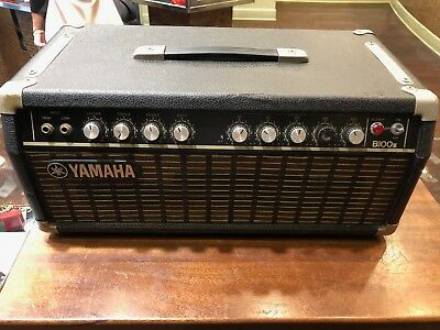 $ CDN262.19 • Buy Yamaha B100ii Bass Amp Amplifier Head Solid State Vintage 80s