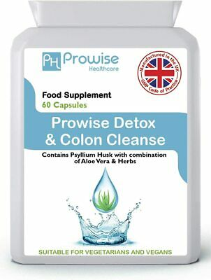 Detox & Cleanse High Strength 90 Capsules Digestive Liver Kidney Health • 6.98£