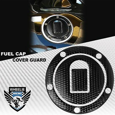 $14.98 • Buy Perforated Black Gas Tank Fuel Cap Cover Protect Guard 04-05 Ninja Zx-10r/6r/9r