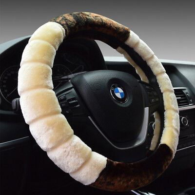 $28.49 • Buy 1Pcs Steering Wheel Cover For Women Winter Warmer Accessories Car-styling Hot