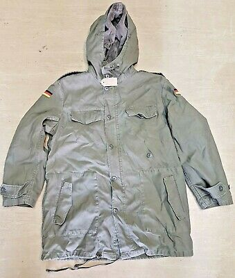 £49.95 • Buy Genuine German Army Issue Olive Green Vintage Retro Lined Parka Jacket #2