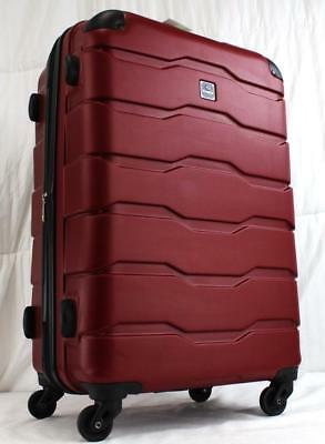 "View Details TAG MATRIX 2.0 24"" EXPANDABLE HARDSIDE SPINNER SUITCASE RED • 63.94$"