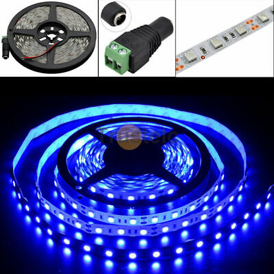 5050 Blue LED Strip Light 300LEDs For Indoor Chair Accent Bar KTV Play Room • 8.99$