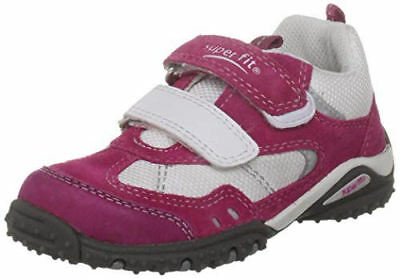 Superfit Girls Kids Sports 4 Mini G Trainers Sneakers PE Shoes Pink White Strap  • 18.99£