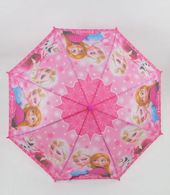 AU15.99 • Buy Frozen Umbrella With Whistle Boys And Girls Kids Umbrella Kids Gift - Pink
