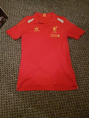 £8.99 • Buy Liverpool Home Football Shirt Mens Warrior Small S (35-37 Chest) 18  Pit To Pit