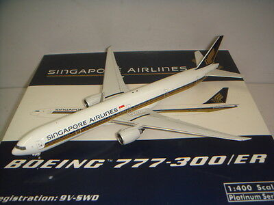 $169.99 • Buy Phoenix 400 Singapore Airlines SQ B777-300ER  2000s Color  1:400 9V-SWD