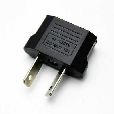 AU9.99 • Buy Black US/EU To AU Conversion Plug Adapter  Australia Travel Adapter Charger