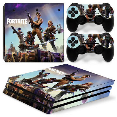 AU19.64 • Buy Playstation PS4 PRO Skin Stickers Battle Decal Console+Controllers Vinyl-1523
