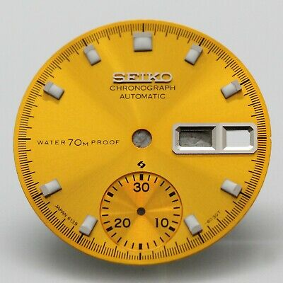$ CDN66.36 • Buy Yellow Proof Dial Vintage SEIKO Chronograph 6139-6000 6139-60016139-6002 Pogue H