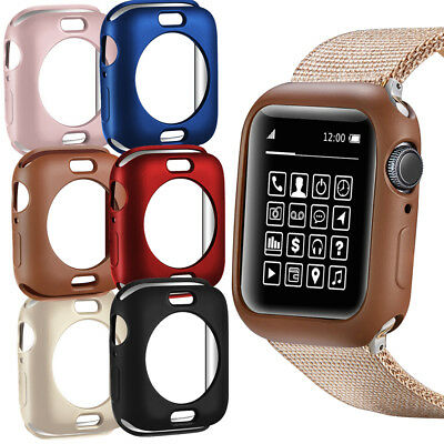 $ CDN6.68 • Buy Bumper TPU Watch Protective Case Cover For Apple Watch Series 4 3 2 1 40mm 44mm