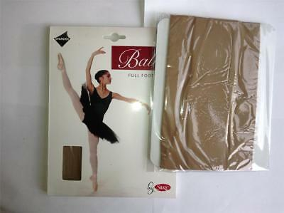 £4.95 • Buy Girls Full Foot Ballet Tights Tan Age 5-7 Years By Silky Children Dance