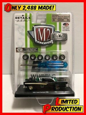 $ CDN45 • Buy M2 MACHINES AUTO-WHEELS Limited Production 1957 FORD FAIRLANE /2,488 (34001) NIB
