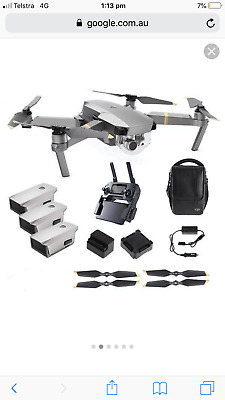 AU1700 • Buy Dji Mavic Pro Platinum Fly More Combo!!!
