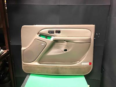 $229.99 • Buy 2003 Silverado Sierra Yukon Suburban Passenger Front Door Panel Neutral Tan