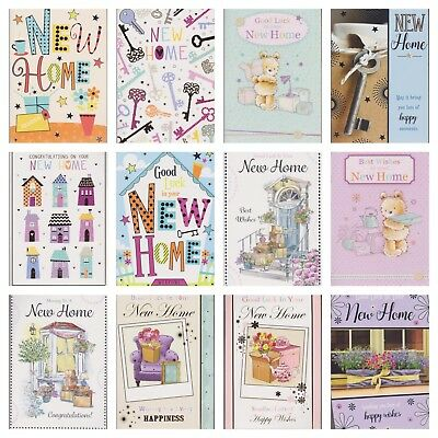 New Home Greeting Card ~ Congratulations On Your New Home ~ Various Designs • 1.46£