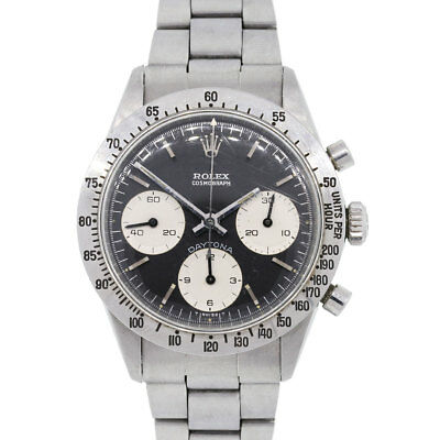 $ CDN93168.28 • Buy Rolex 6262 Daytona Black Stainless Steel Vintage Watch
