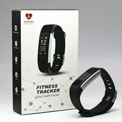 View Details Fitness Tracker Smart Watch Pedometer Heart Rate Monitor Running Cycle Sport UK✅ • 24.99£