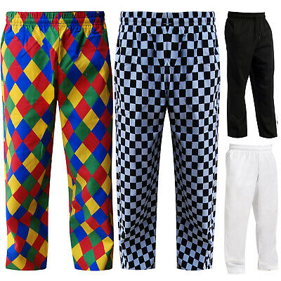 £13.99 • Buy Chefs Trousers Pants Chef Clothing Uniforms Trousers 4 Colors