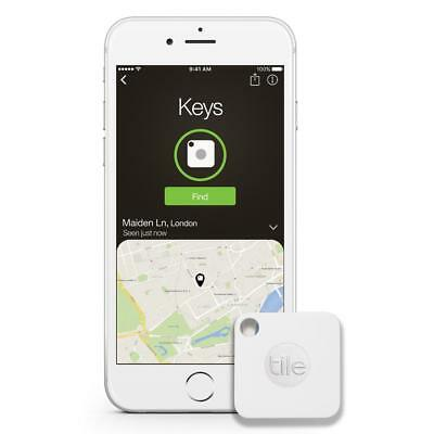 View Details Tile Mate 1 Pack Tracker - White - RT-05001-NA Bluetooth Wireless Key FOB  • 18.99$